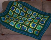 Porch Swing Granny Square Afghan