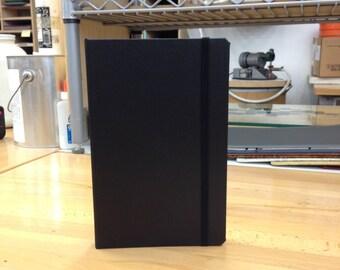 2012 Nexus 7 BookCase in Black Morocco Faux Leather