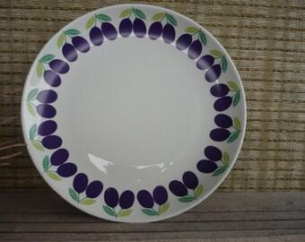 Vintage Arabia Finland Serving Platter,  Pomona Plum Design, Mid Century Modern, Scandinavian Design,