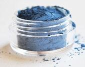 PEACOCK Small Blue Mineral Eye Shadow: Natural & Vegan Makeup