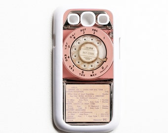 Samsung Galaxy S3 Case. Vintage Pink Payphone. Cases for Galaxy S3. Phone Case. Phone Cases.