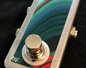 Saturnworks A/B Box Line Selector Switch Tuner Out Guitar Pedal