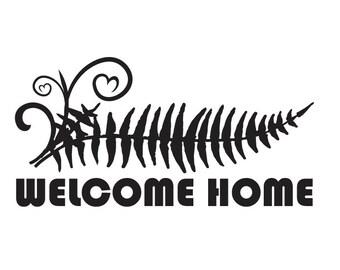 Sticker - Welcome Home Michfest Fern