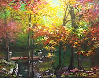 """Nature's Smile - 30""""x40""""x0.5"""" Acrylic on Canvas"""