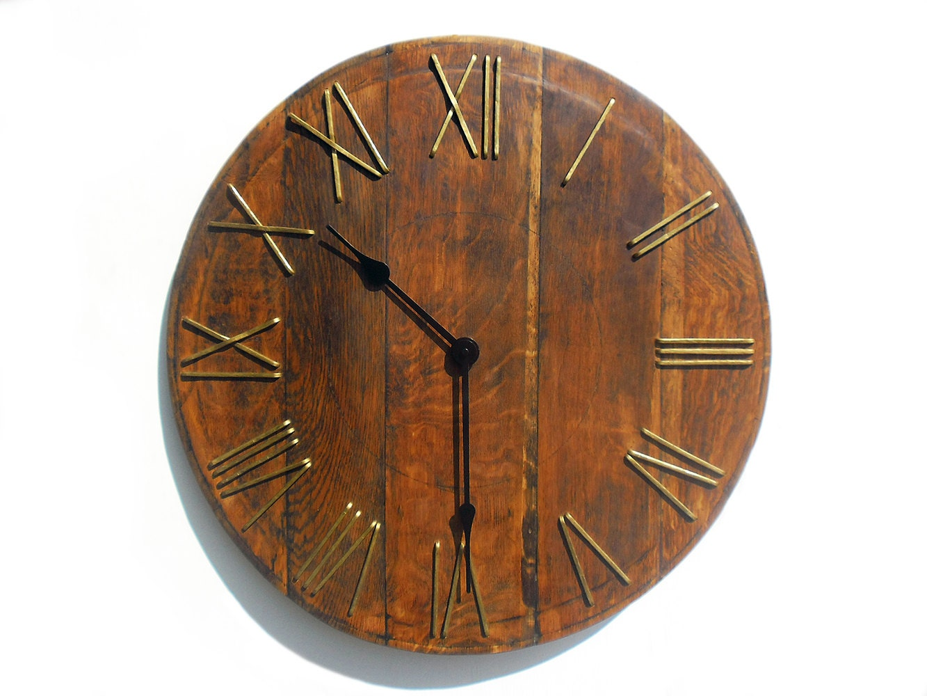 23 39 39 Large Rustic Wall Clock Unique Big Wall Clock