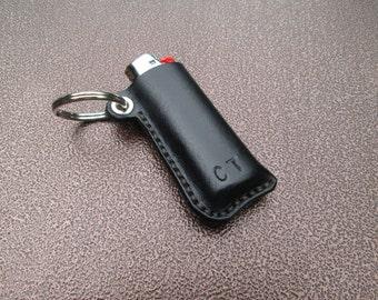 BIC Lighter Leather Key Fob