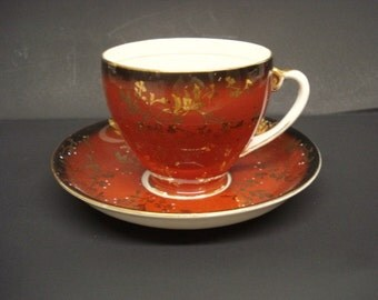 MARVELOUS  CUP and SAUCER Set  Royal Grafton Cup and Saucer Bone China England