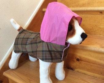 Dog Raincoat by FiercePetFashion