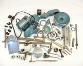 Sewing Machine Parts cool Metal Pieces Altered Art