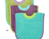 Pullover Baby to Toddler Bibs - Set of Three - Set #5