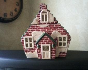 Brick House Cookie Jar
