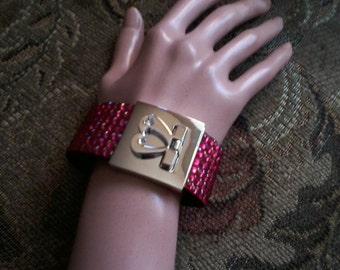 Salmon Cuff Bracelet