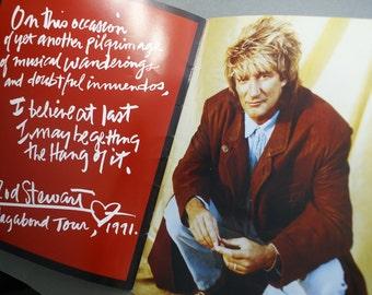 Rod Stewart Vagabond Heart Album Tour Promotional Magazine 1991