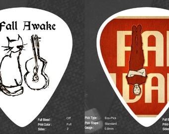 Custom Eco Friendly Organic Medium Guitar Picks