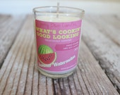 Summer Watermelon Mini Soy Candle