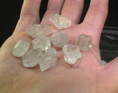 "Elestial Fenster Quartz from Mexico - ""Herkimer""-type Double Terminated Quartz Crystal"