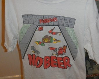 Sad No Beer Party Over College Drinking Shirt L