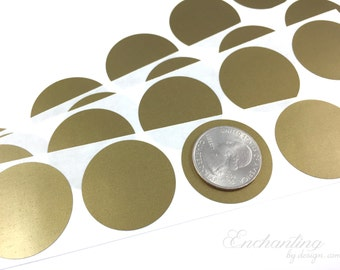 gold 125 inch round scratch off stickers