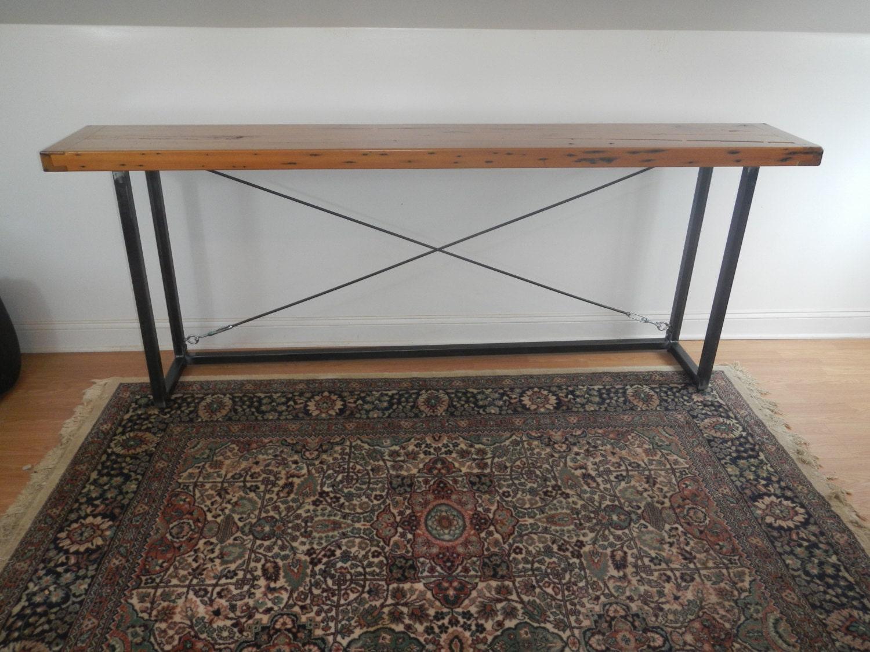Reclaimed Wood Sofa Table Console Table Hall Table