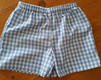 Boys Plaid Shorts Size 2T