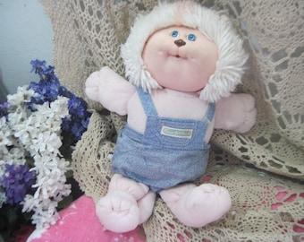 Cabbage Patch, Vintage 1983 Cabbage Patch Kids Koosas Coleco Pet Cat 1983, Xavier Roberts Cloth Doll, Vintage Doll Pet, Vintage Doll,   :)S