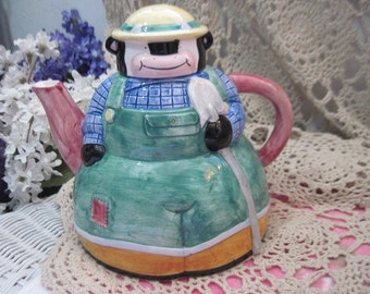 Teapot Cow, Down Home Collection 1995 Cow Teapot, Vintage Teapot, Vintage Country Kitchen, Vintage Kitchen, Vintage Dishes, Cow :)s*