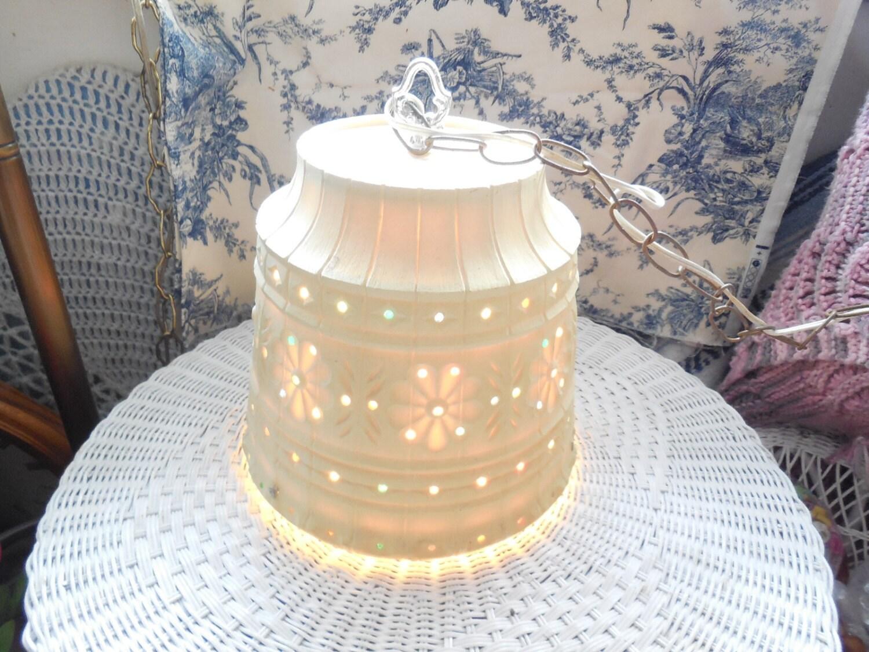 flower pot hanging light swag lamp hanging lamp country. Black Bedroom Furniture Sets. Home Design Ideas