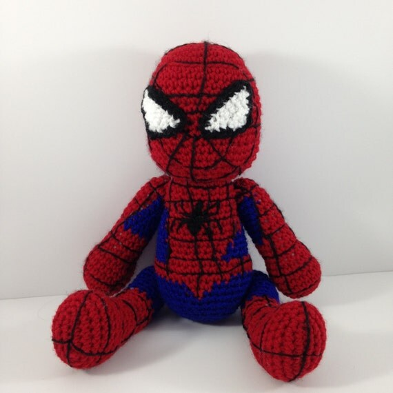 Crochet Amigurumi Spiderman : Spiderman Crochet Amigurumi Doll