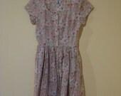 JG Hook Dress / Liberty of London Cotton Dress