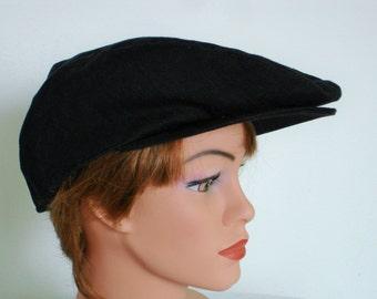 FlatCap Newsboy Paperboy 100% Cotton - Size 58 cm  22 -22,4 inch - Flat Cap