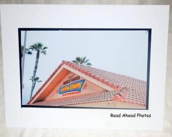 Photo card, Huntington Beach photography