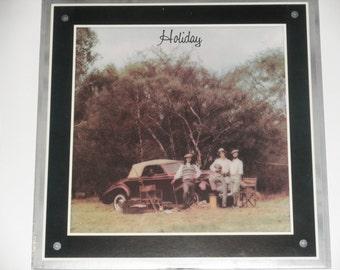 "America - Holiday - ""Lonely People"" - ""Tin Man"" - Folk Rock - Warner Brothers 1974 - Vintage Vinyl LP Record Album"