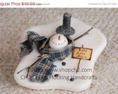Christmas in July SALE Melting Snowman, Snowman with Sign, Love Never Melts