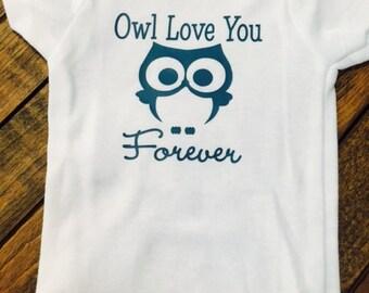 Owl Love You Forever Onesie