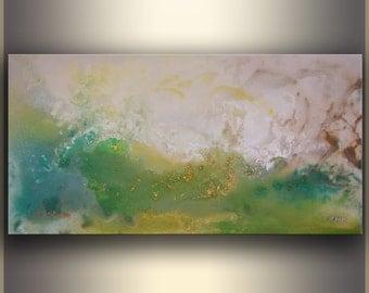Green Abstract Painting, Original Painting, Abstract Art Painting, Acrylic Painting, Wall Art, Canvas Art, Original Art, Home Decor