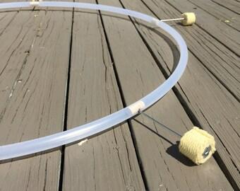 CUSTOM // Naked (No Tape) Polypro Fire Hoop