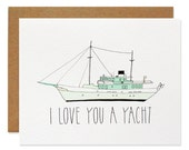 I Love You A Yacht