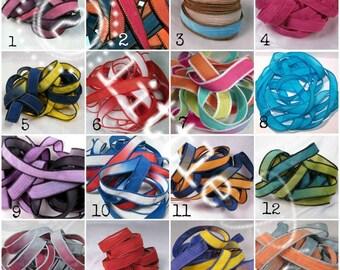 Silk Wrap Ribbon, Add on Ribbon Wrap, Replacement Silk Wrap Ribbon - One Ribbon NEW COLORS