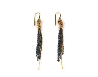 Tangled Chain Earrings