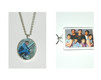The Outsiders Pony Boy Glass Pendant Necklace and or Keychain