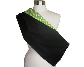 Reversible Polka Dot Pet Sling - YOU PICK Interior Fabric