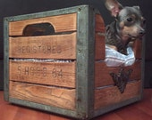 SALE *** MILK CRATE - Dog Bed Or Cat Bed