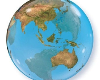 """22"""" round globe PLANET EARTH party FAVORS astronomy Outer Space Globe"""