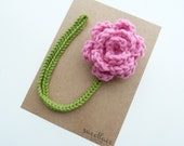 Cotton Candy Pacifier Clip--Crochet Flower pacifier clip--Baby Girl accessories--MAM--Sweetlace Shop
