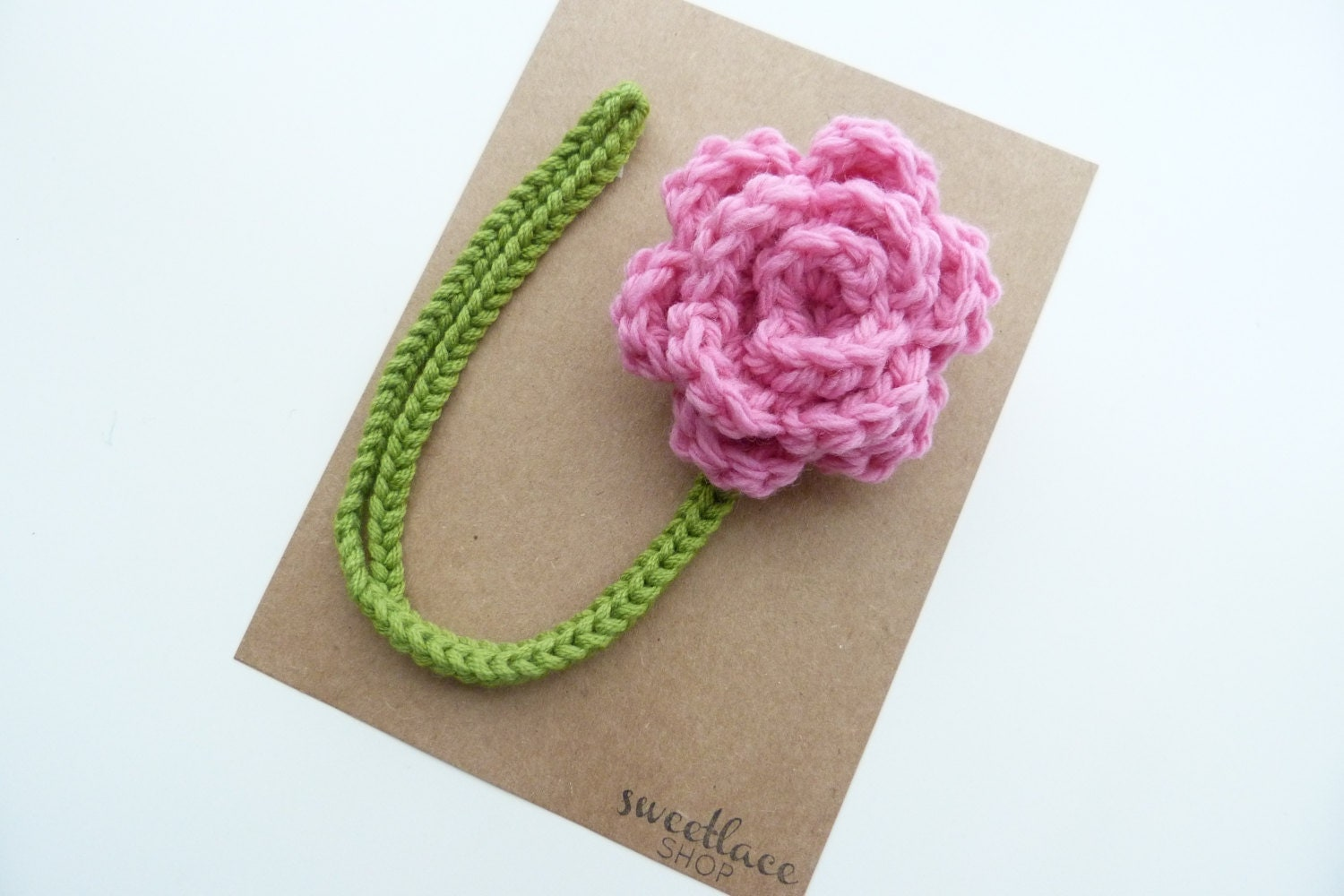 Cotton Candy Pacifier ClipCrochet Flower pacifier clipBaby