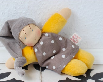 Dotty, waldorf inspired doll, cuddle doll, Babies first friend, natural toy