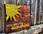 you are my sunshine string art nursery decor