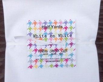 White-on-White Half Yard Bundle (WOW10HYB01)
