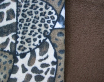 Custom made fleece dog and cat beds