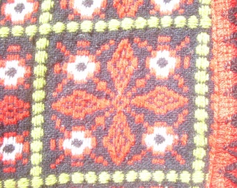 Tablecloth for round table, folk